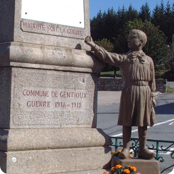Maudite soit la guerre - Gentioux - Creuse