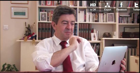 Les voeux de Jean-Luc Mélenchon pour 2012