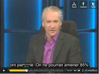 Bill Maher aime les Français