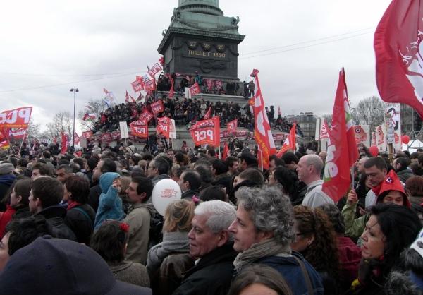 Prise de la bastille - 18 mars 2012 - © PCF 50