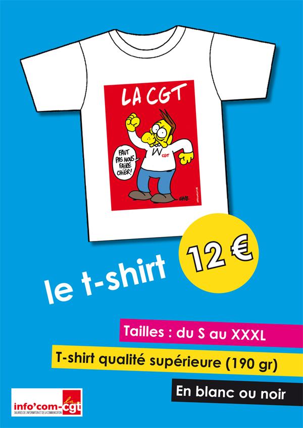 T-shirt CGT CHARB 2013