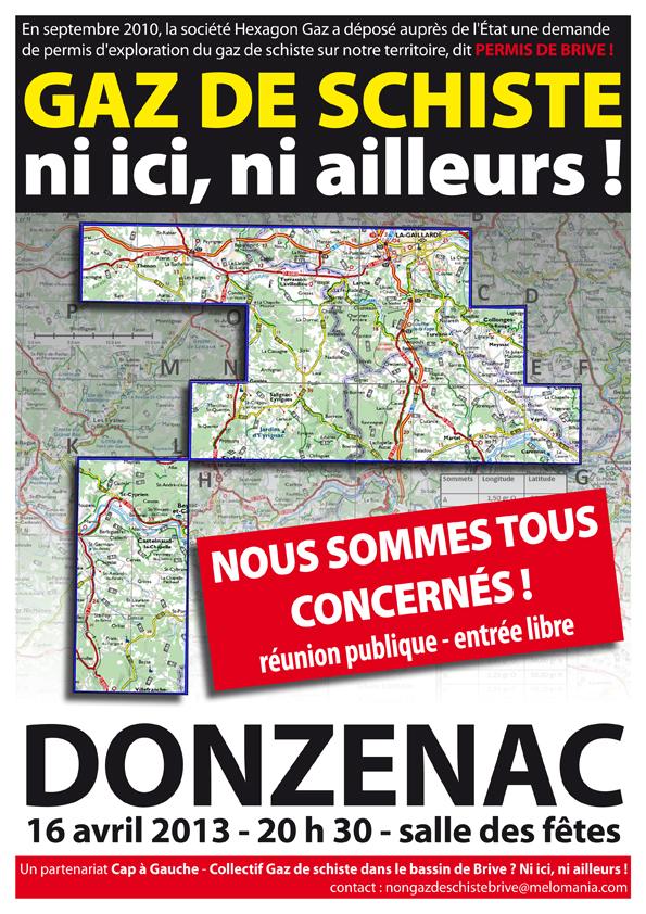 Non à l'exploration des hydrocarbures en Corrèze, Dordogne et Lot.Non à la destruction de notre environnement et notre santé pour remplir les poches d'entreprises étrangères